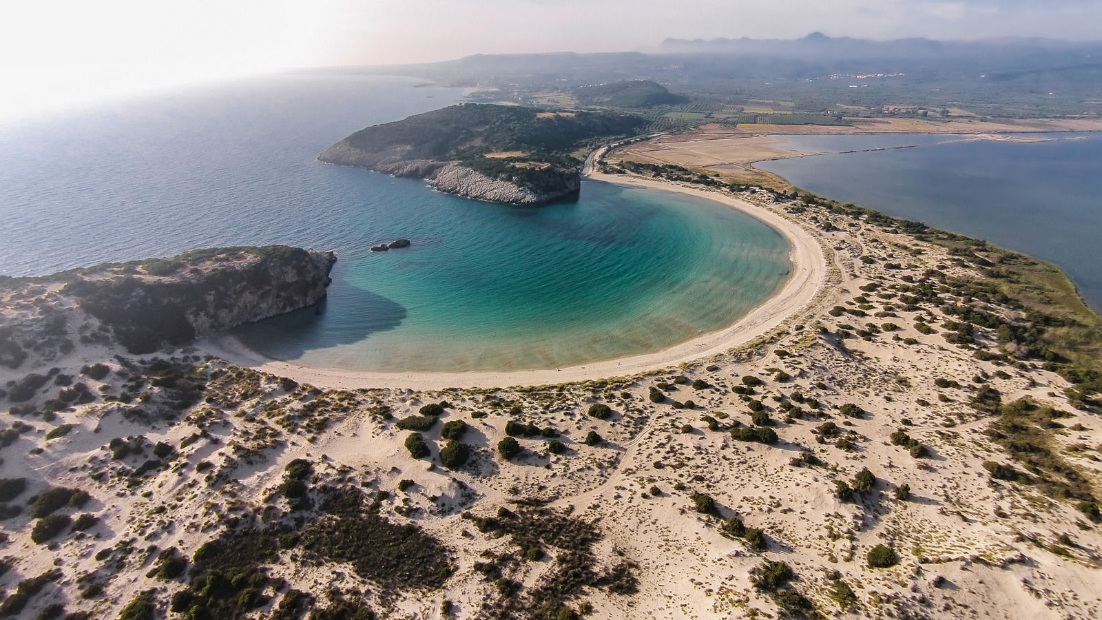 Voidokilia Beach Costa Navarino Messinia Greece