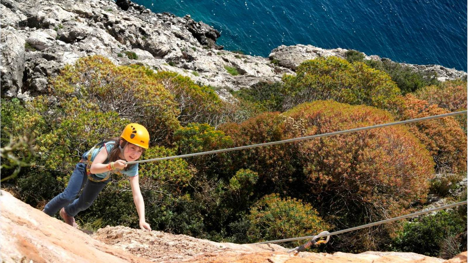 The Romanos a Luxury Collection Resort SPA Costa Navarino Messinia Greece Activities Navarino Outdoors Rock Climbing Kids