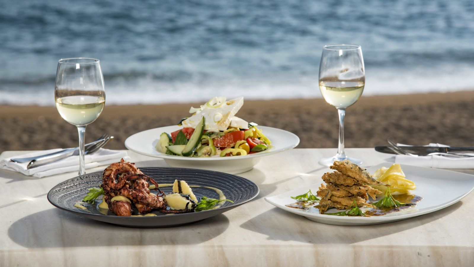 The Romanos a Luxury Collection Resort Costa Navarino Barbouni Restaurant